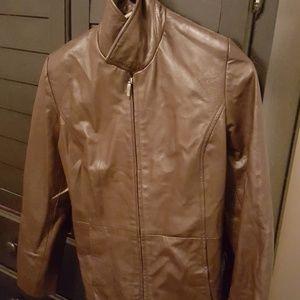 Style & Co petite Leather Jacket
